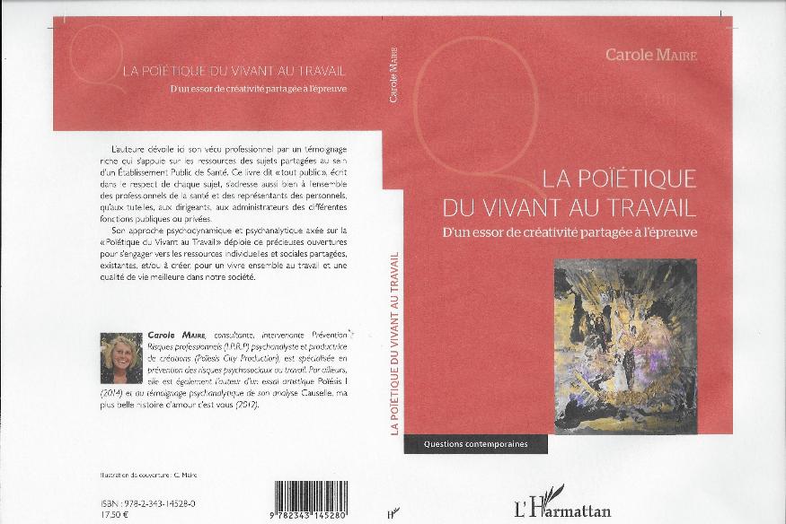 LA POÏETIQUE DU VIVANT AU TRAVAIL - Carole MAIRE